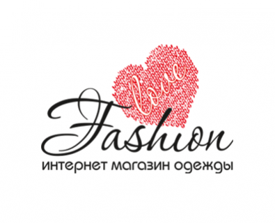Creation of logo design for Fashion Love company in Chisinau, Moldova