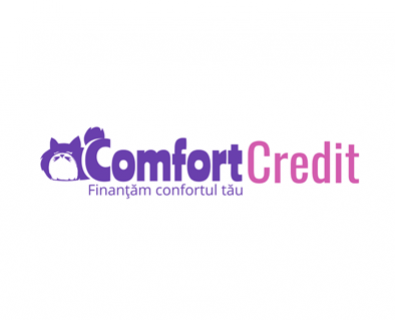 Development of logo design for Comfort Credit company from Chisinau, Moldova