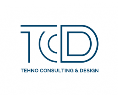 Development of logo design for TCD company from Chisinau, Moldova
