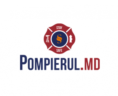 Create custom design logo for site Pompierul in Moldova
