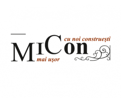 The creation of the logo of the Micon company in Moldova