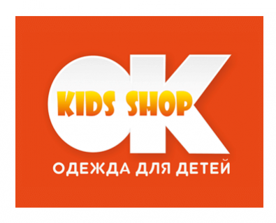 Logo development for the online store OKkidsshop in Moldova