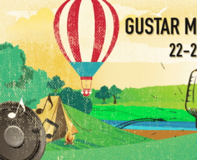 Banner for Gustar music festival