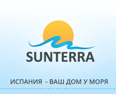 Flash banner for the website of the Agency Sunterra