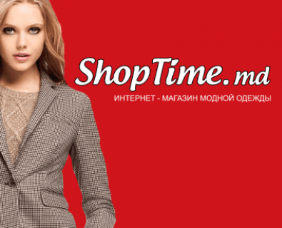 Flash banner for the online catalog Shoptime